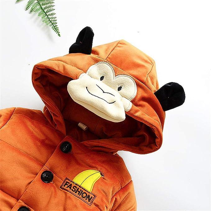 Amazon.com: GoodLock Baby Boys Girls Coats Toddler Cartoon Long Sleeve Monkey Hoodie Winter Warm Clothes Coat: Clothing