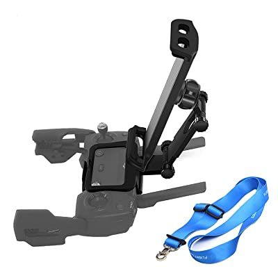 O'woda Upgraded 4.6-12 inches Phone/Tablet Holder Bracket Mount 360 Rotatable Support with Neck Lanyard Strap for DJI Spark/Mavic AIR/Mavic Pro & Platinum Remote Control (Not for Mavic 2 Pro): Camera & Photo