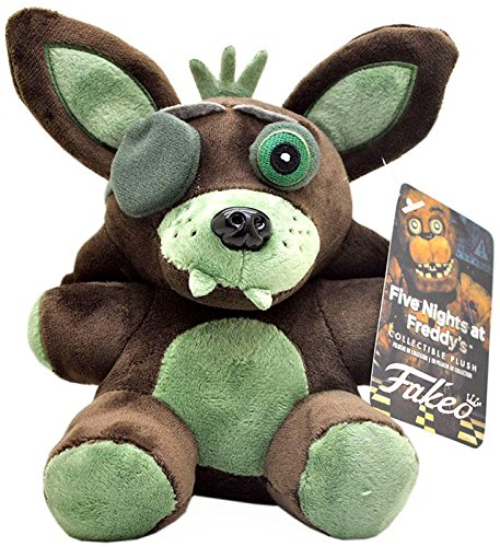 Green Fox Exclusive Collectible 7inch Plush Toy Birthday Funny For Kids Toy