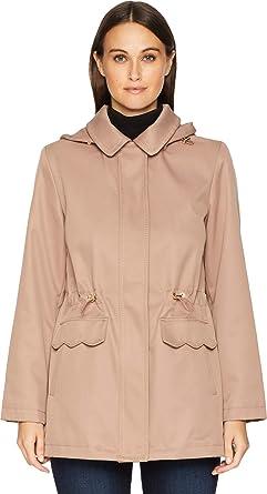 0859edb4d077 Amazon.com  Kate Spade New York Womens Hooded Rain Anorak  Clothing