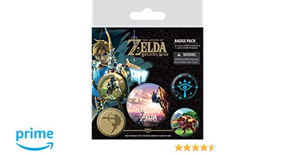Badge Pack The Legend of Zelda: Breath of The Wild The Climb