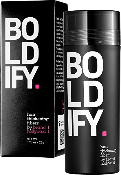 BOLDIFY - Fibras capilares, ocultan completamente la pérdida del ...