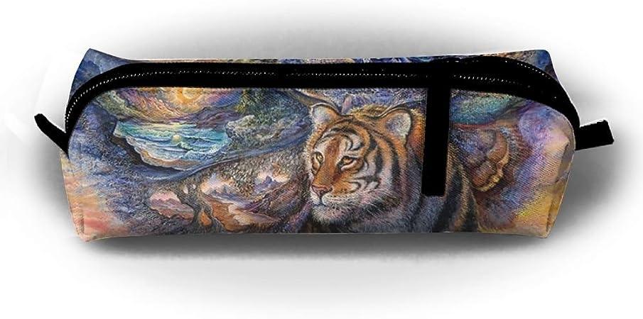 Flying Tiger - Estuche para bolígrafos, con cremallera, para maquillaje, cosméticos: Amazon.es: Hogar