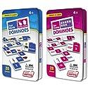 ジュニア学習フレーム& First Words Dominoes Gameセット( 56Dominoes )