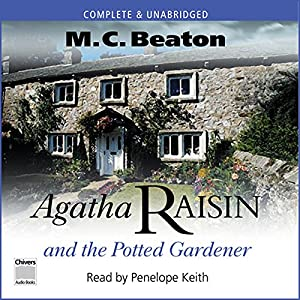 Agatha Raisin and the Potted Gardener Audiobook