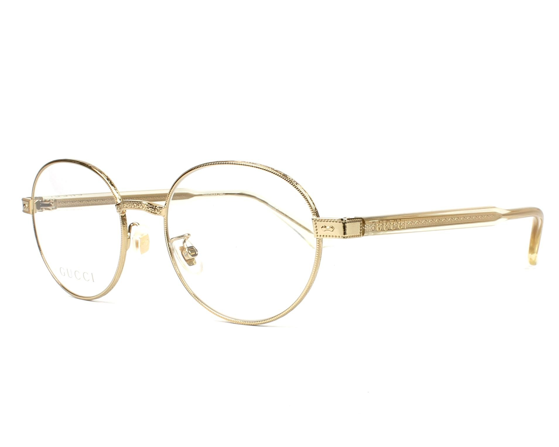 Eyeglasses Gucci GG 0189 O- 003 GOLD / YELLOW