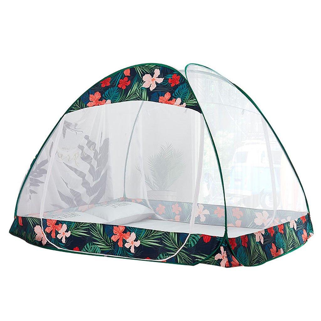 Moskito-Netze Jurte einfach zu installieren verhindern Insekt 2 Türrunde Oberseite 5 ft/6 ft Bett-Schlafzimmer-Zubehör für Haus