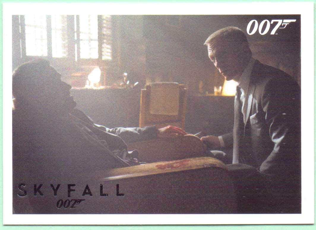 James Bond Autographs /& Relics Silver Parallel Base Card #87