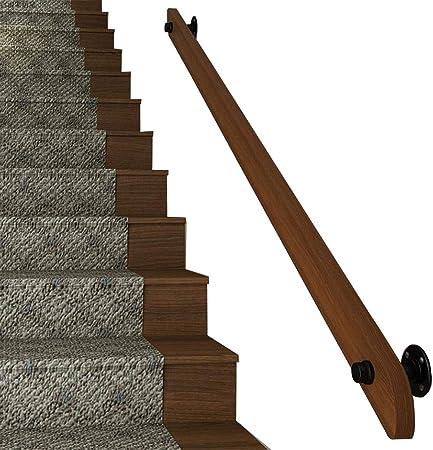 Barandilla de Escalera de Madera para Interiores | Barandillas de Apoyo de Seguridad para el Embarazo