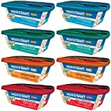 Natural Balance Grain Free Delectable Delights Dog Food Stew in 4 Flavors - Gobbler Cobbler - Bowl 'O Burgundy - Pawpaya Pilaf - & Fetchin' Catchin's - 8 Tubs Total (8 Ounces Each)