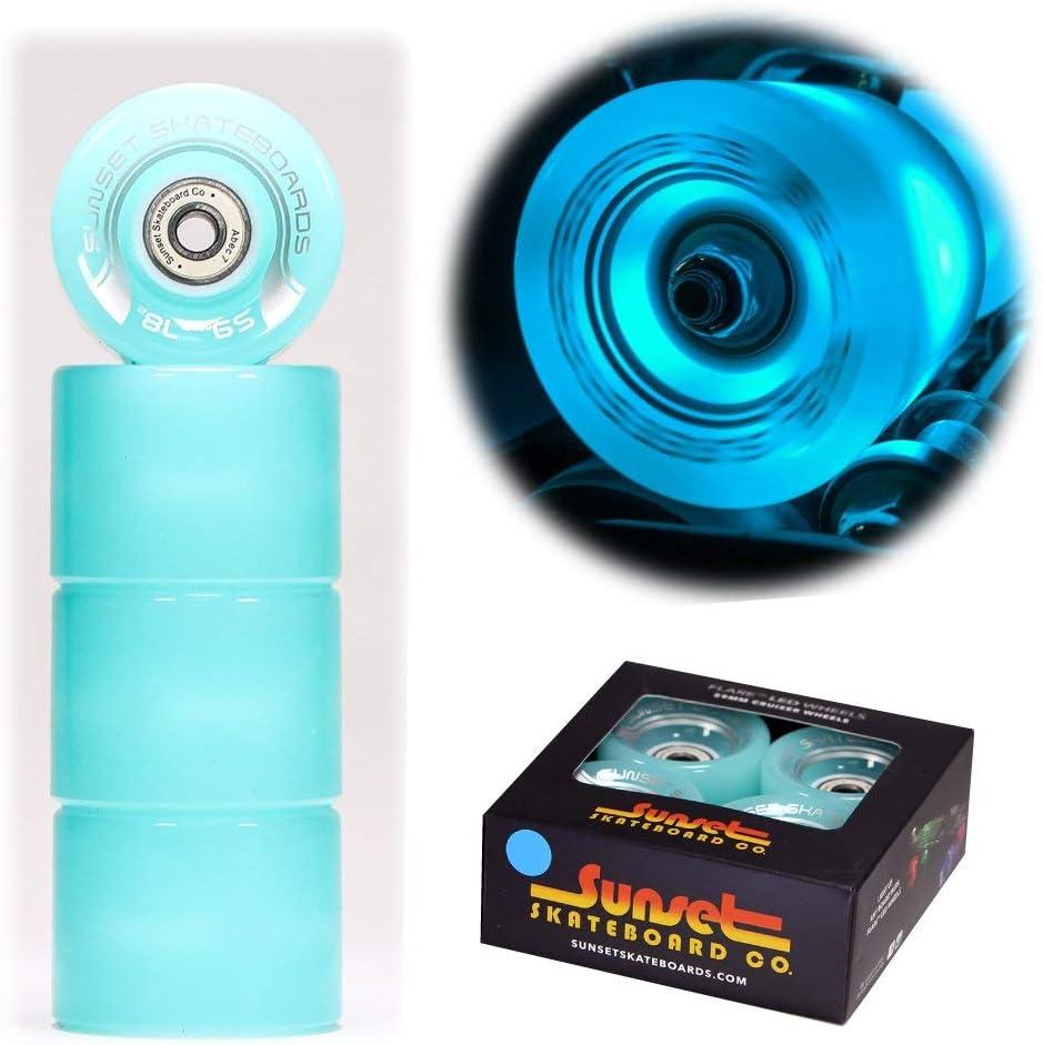 """Beginners Plastic Cruiser Non-Slip Deck Multiple Colors for Boys and Girls Flybar 22/"""" Skateboard for Kids"""