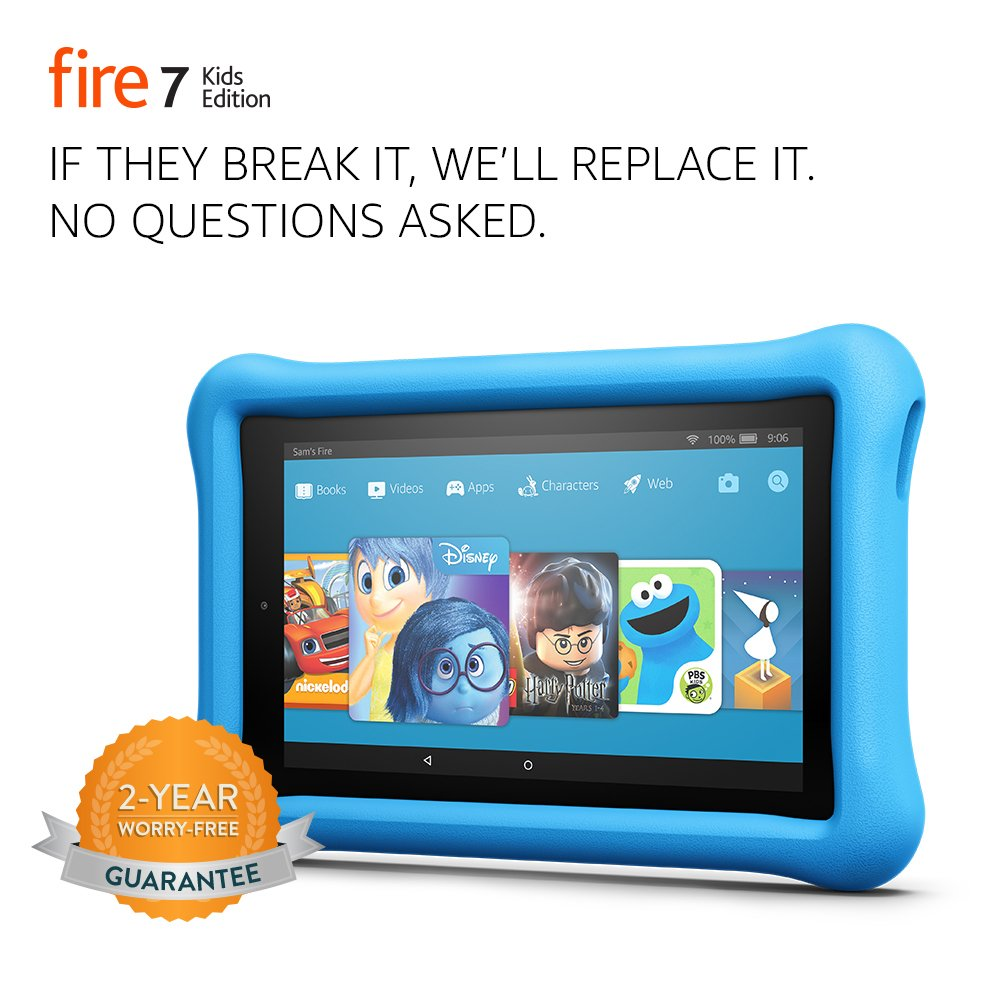 The Fire 7 Kids Edition Tablet travel product recommended by Matilda Geroulis on Lifney.
