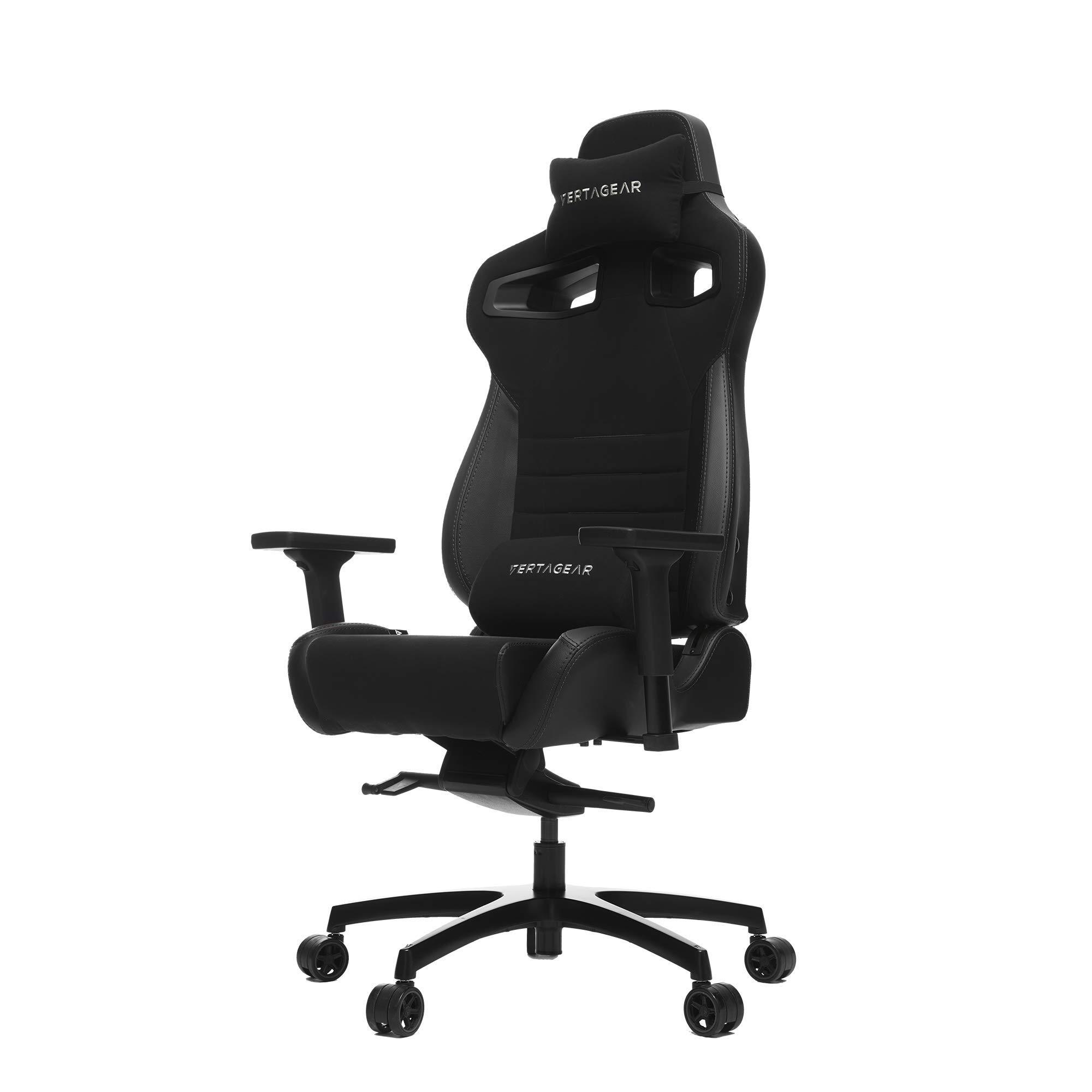 VERTAGEAR VG-PL4500_BK Racing Series P-Line PL4500 Gaming Chair Black/Carbon Edition by VERTAGEAR