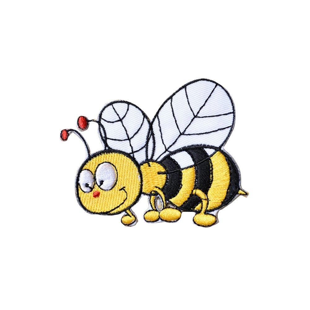 Wicemoon - Parche para Ropa con diseño de Dibujos Animados y Abejas ...