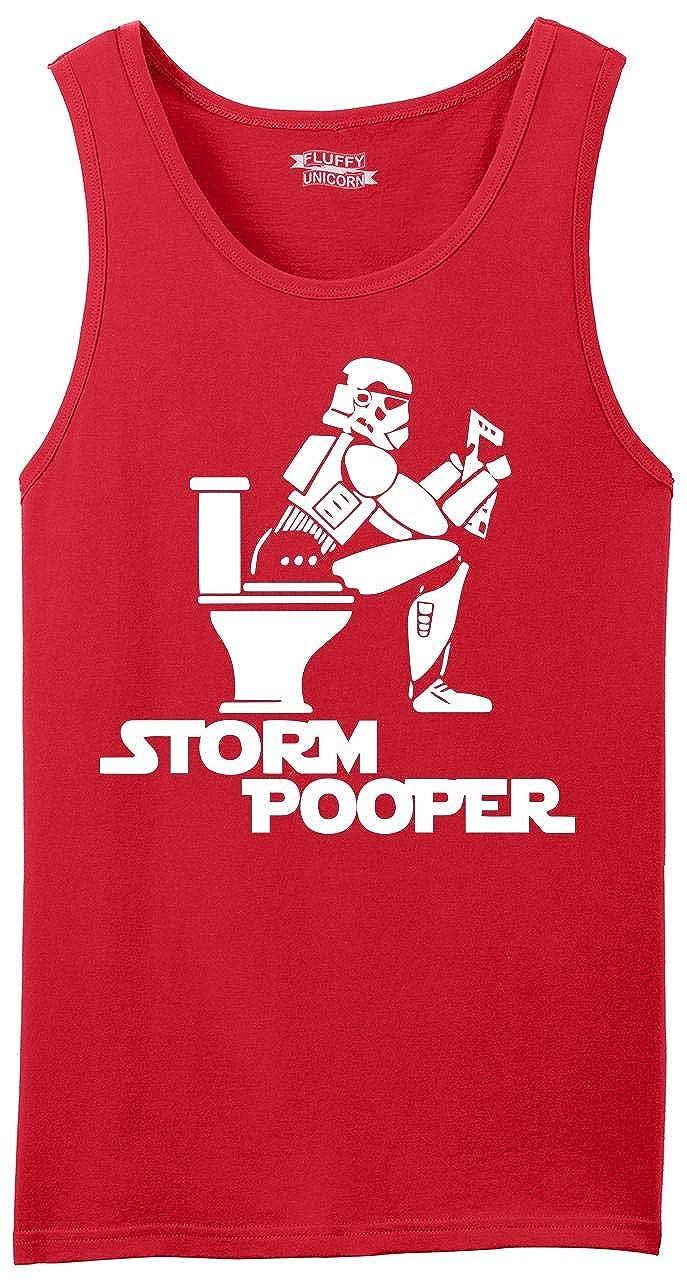 Comical Shirt Mens Storm Pooper Funny Star Movie Parody Shirt Tank Top