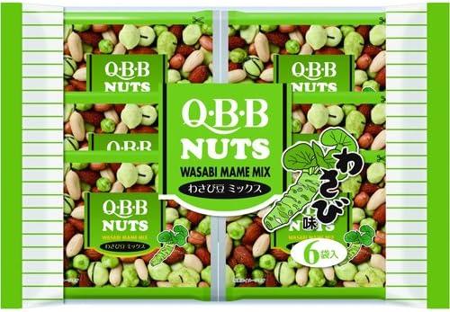 QBB NUTS (わさび豆ミックス, 12袋)