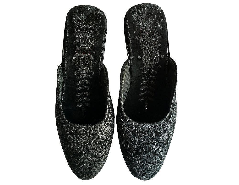 Step n Style Traditional Jutti Punjabi Indian Shoes Women Saree Jooti New Sandals
