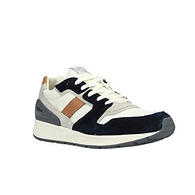 Zapatilla Hombre Polo Ralph Lauren Train 100 White/Navy (40 EU ...