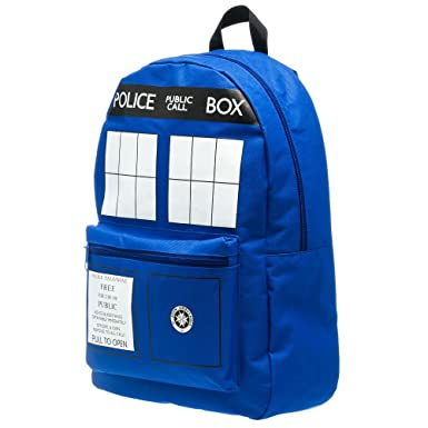 Bioworld Tardis Backpack
