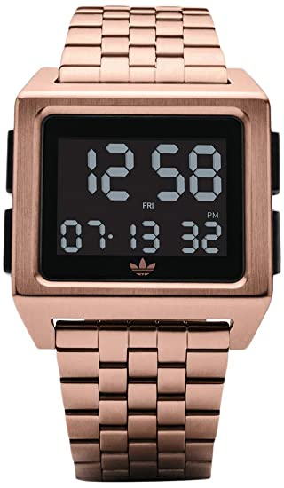 Adidas by Nixon Reloj Mujer de Digital con Correa en Acero Inoxidable Z01-1098-00: Amazon.es: Relojes