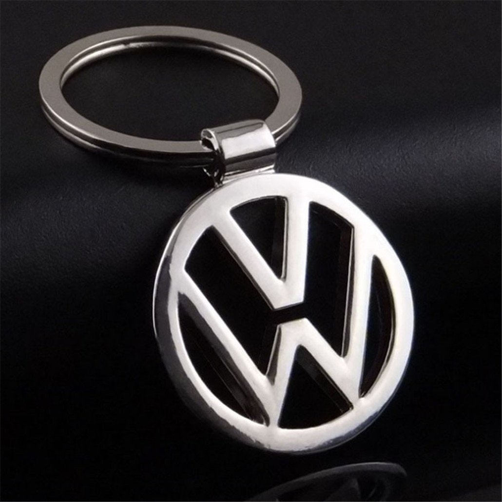 Fashion Metal Car Logo Key Ring Keyring Keychain Key Chain For Volkswagen Vw Auto Pendant Key Holder