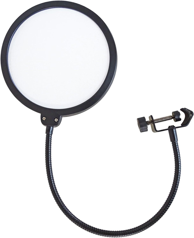 keepdrum NB35 Gelenk-Stativ Tisch-Mikrofonarm Mikrofonstativ Schwenkarm zur Tischmontage