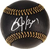 Bo Jackson Kansas City Royals Autographed Black Leather Baseball - Fanatics Authentic Certified - Autographed Baseballs