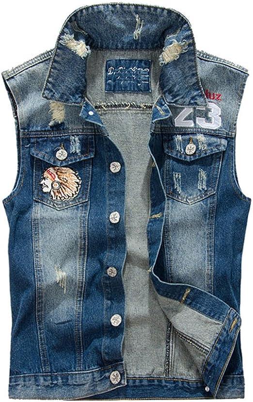 jeans jacke ohne ärmel herren