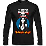Lords Of Acid Vampire Girl Smoking Hot DIY Men's Long-Sleeve Fashion Casual Cotton T-Shirt