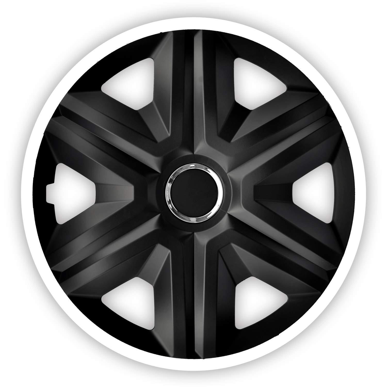 Tapacubos Universal para Coche NRM Fast Lux 4X 4 Unidades