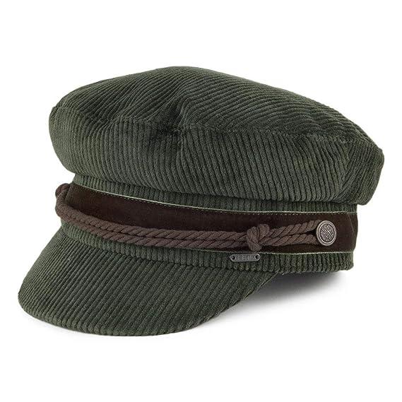 23d41d18577 Barts Hats Odessa Corduroy Fiddler Cap - Army Green Small Medium ...