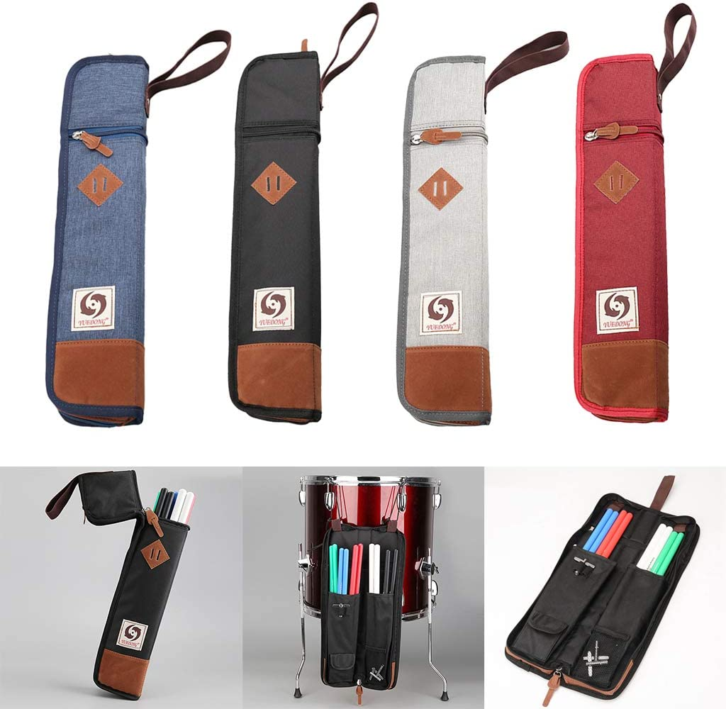 Soporte Para Bolsa/Estuche Para Baquetas: Tiene 4-6 Pares De Baquetas - Azul: Amazon.es: Instrumentos musicales