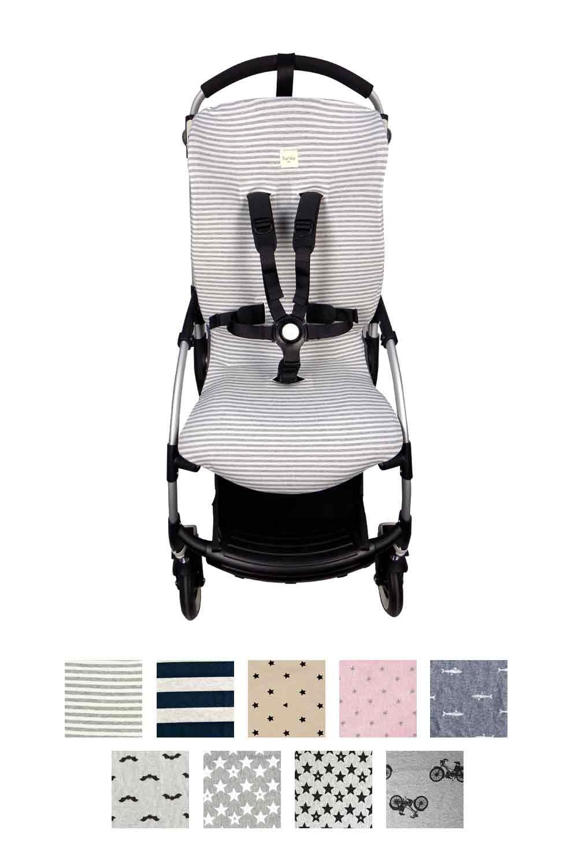 Fundas BCN /® Baby Bat Schonbezug f/ür den Buggy Bugaboo Bee 3 /® aus Baumwolle Perfekt f/ür den Sommer F44//9099