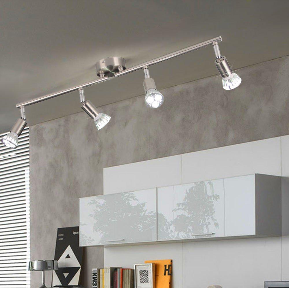 Licht Trend Luminato LED Deckenlampe 545cm 4 X 13153 Amazonde Beleuchtung
