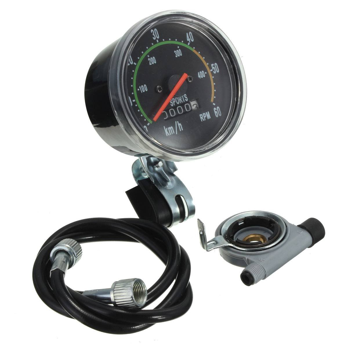 Amazon.com : OUTERDO Bike Speedometer Odometer Bicycle Stopwatch ...
