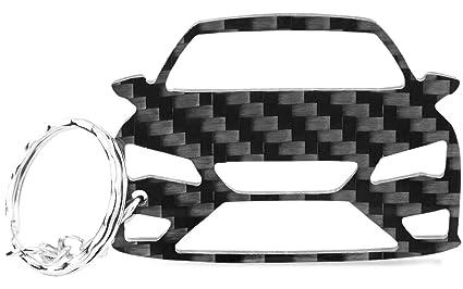 Llavero de ACF, carbono auténtico, idea de regalo