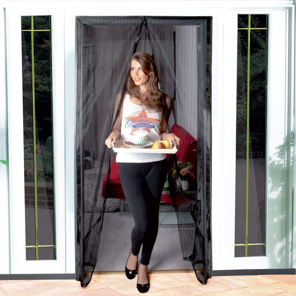 Mosquitera magnética para puertas y ventanas, 240 x 140 cm, antimosquitos: Amazon.es: Bricolaje y herramientas