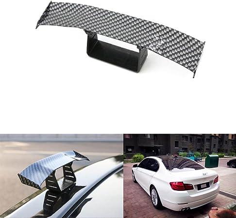 Sport Family Universal Klein Carbon Fiber Heckflügel Kleine Heckspoiler Spoiler Dekoration Auto