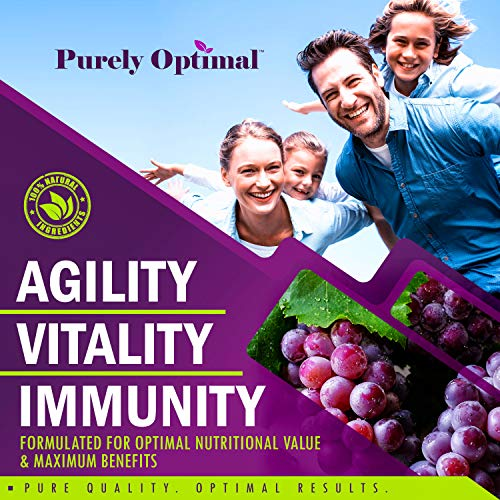 61 DOYp1elL - Premium Resveratrol Supplement 1500mg - Max Strength Potent Antioxidant, Trans Resveratrol Capsules for Heart Health, Anti-Aging, Immune Health - with Grape Seed & Green Tea Extract - 30 Days Supply