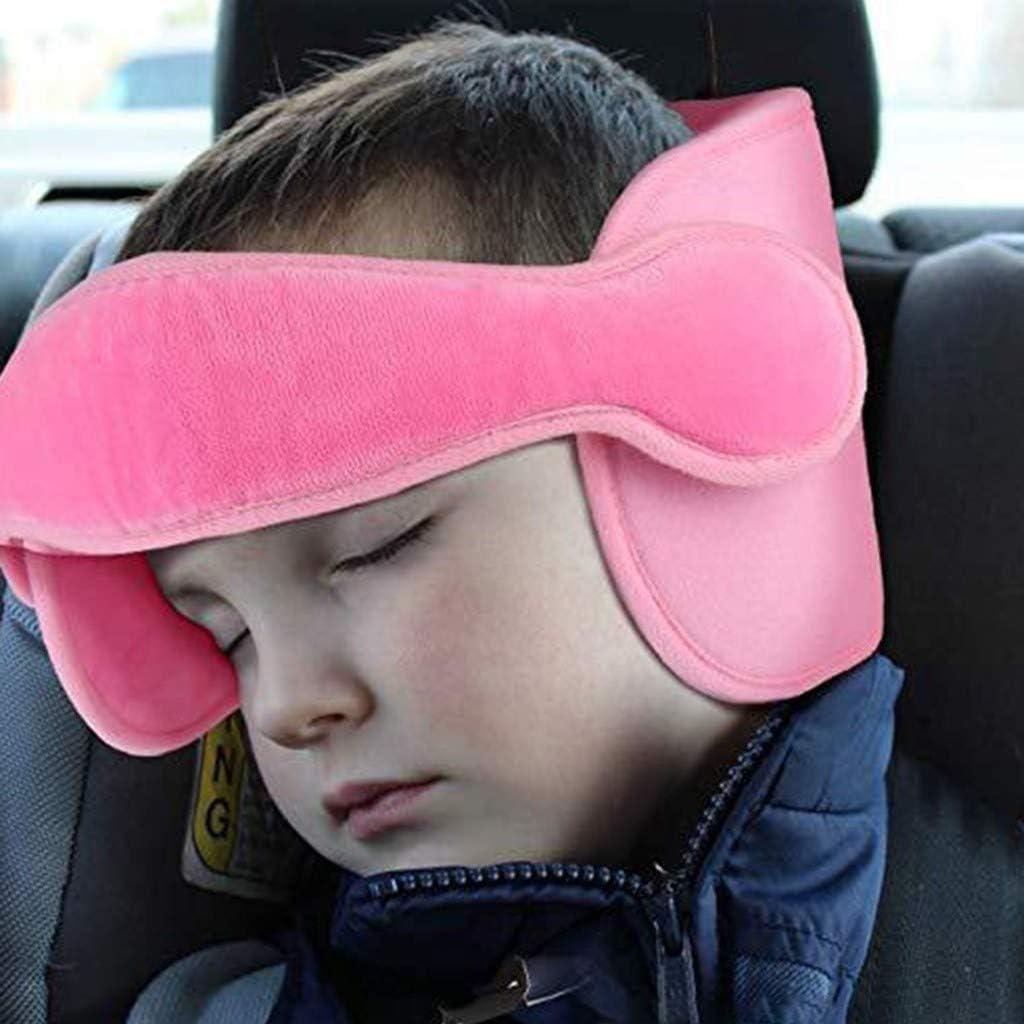 KANGMOON Kopfst/ütze Kindersitz Kinder Auto kinderkopfst/ütze f/ür Autositz Nackenst/ützen Einstellbare Kopfschutz Schlafkissen Kopfhalterung