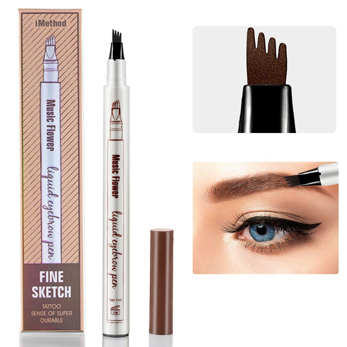 Amazon Eyebrow Tattoo Pen Imethod Microblading Eyebrow
