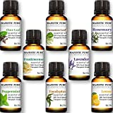 Majestic Pure Aromatherapy Essential Oils Set of T...