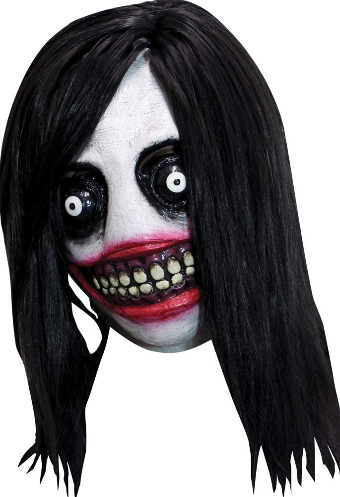Ghoulish Productions Creepy Killer Adult Mask Standard: Amazon.es ...