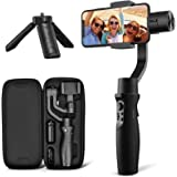 3-Axis Gimbal Stabilizer for iPhone 12 11 PRO MAX X XR XS Smartphone Vlog Youtuber Live Video Record with Sport Inception Mod