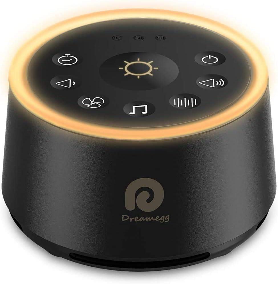 Dreamegg Sleep Sound White Noise Machine, 24 HIFI Natural Sounds WAS £29.99 NOW £14.99 w/code DFUG4W5F + £3 voucher on listing @ Amazon