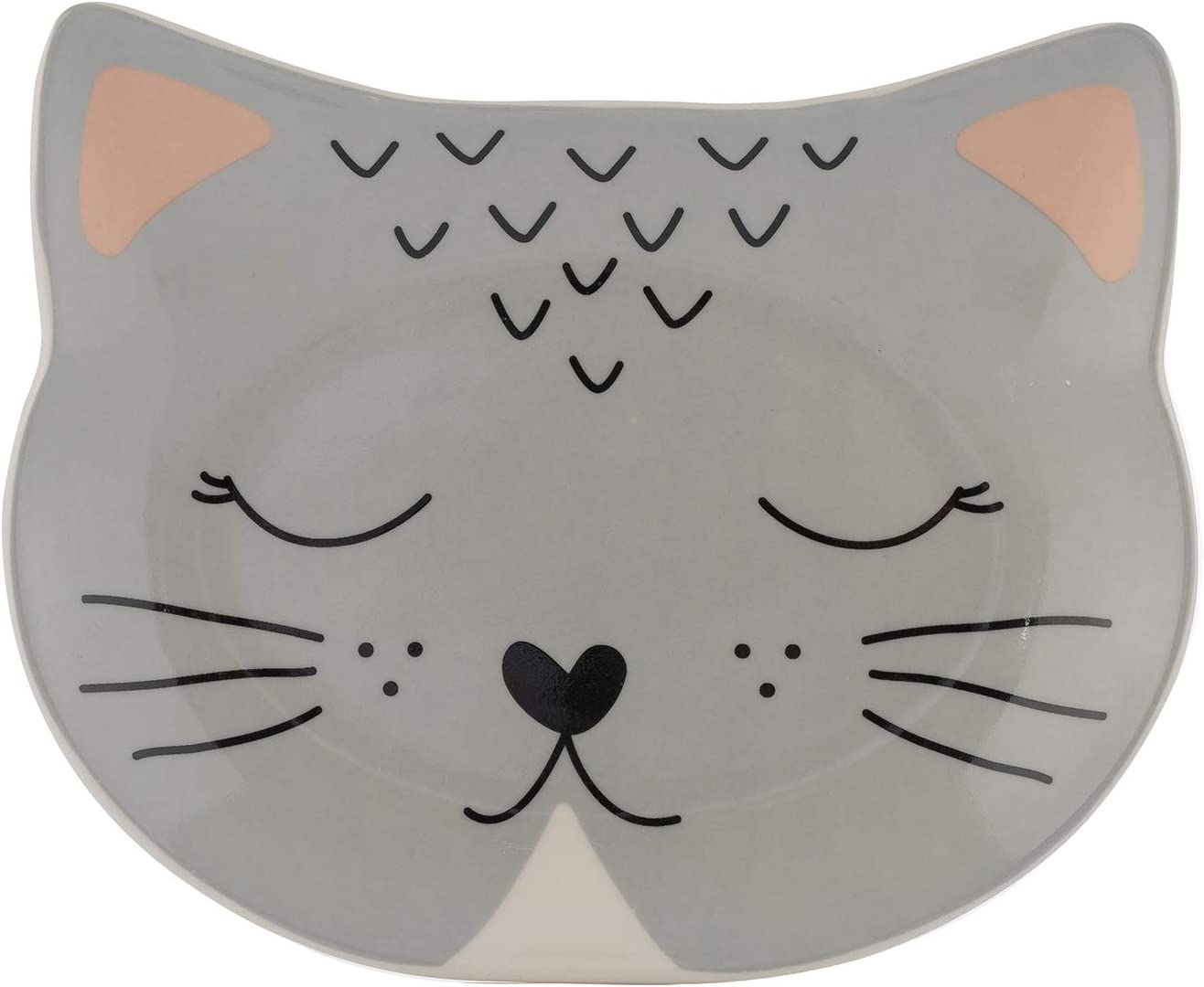 Mason Cash Smokey Cat Bowl 16x13cm One Size