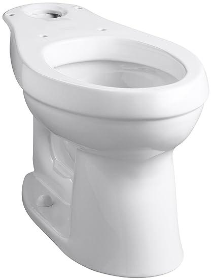 kohler k 4309 0 cimarron comfort height elongated toilet bowl, whitekohler k 4309 0 cimarron comfort height elongated toilet bowl, white amazon com