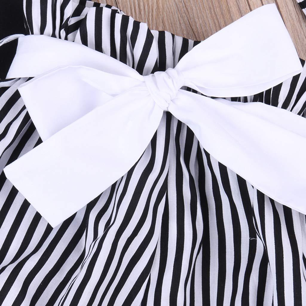 B Bone Lovely Baby Girl Romper Jumpsuit Sleeveless Short Striped Newborn Toddler Infant Outfit Clothing Sunsuit