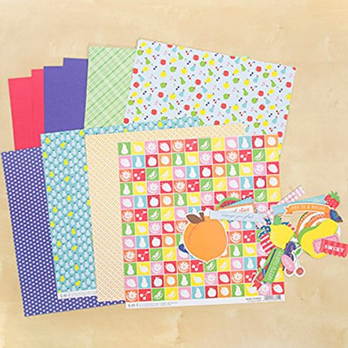 (SEI Handpicked Scrapbook 12 Inch by 12 Inch Paper Pack Die Cut Shapes)