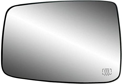 For Dodge Ram 1500 2500 2009-2018 Heated Mirror Glass Passenger Right Side